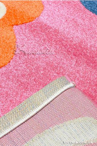 Килим FULYA 8947A pink-pink