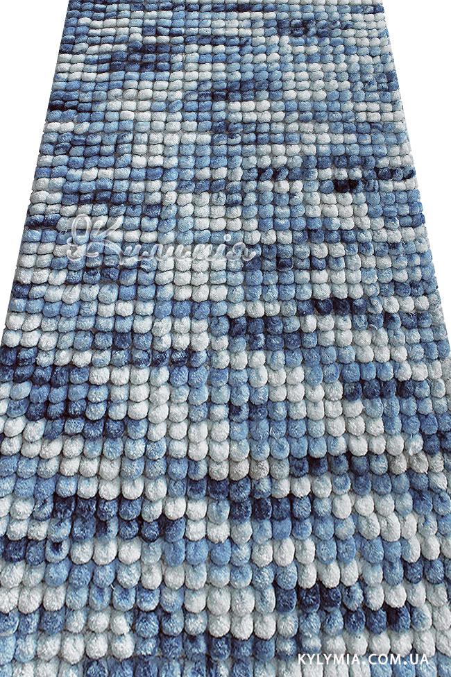 Килимок WOVEN RUG 16223 blue
