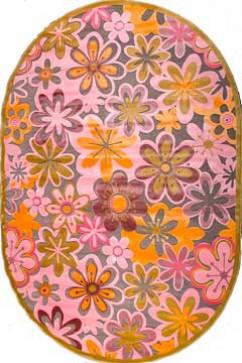 BONITA 7210 10674 Тонкие акриловые ковры в ярких нетускнеющих красках, удобны в уборке. Подойдут в любую комнату.