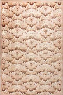 Ковер BONITA 2208 KBJ Прямоугольник из Акрил производства Турция  в бежево-кремовых, в коричневых цветах - фото М