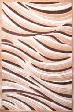 Ковер BONITA 2207 AKH Прямоугольник из Акрил производства Турция  в бежево-кремовых, в коричневых цветах - фото М