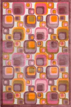 BONITA 3214 14516 Тонкие акриловые ковры в ярких нетускнеющих красках, удобны в уборке. Подойдут в любую комнату.