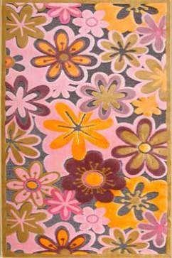 BONITA 7210 5078 Тонкие акриловые ковры в ярких нетускнеющих красках, удобны в уборке. Подойдут в любую комнату.