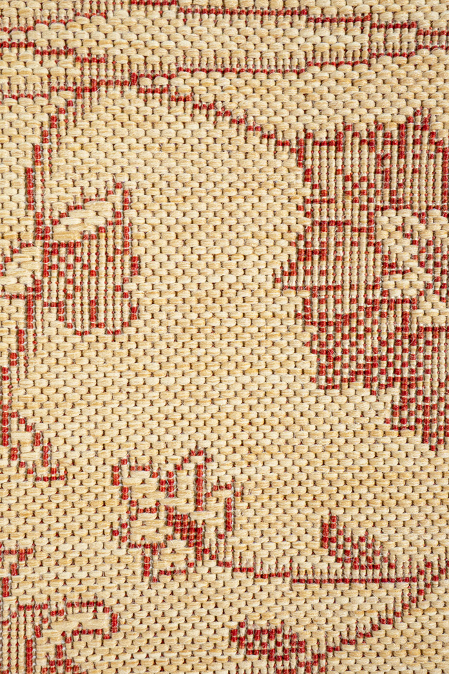 Ковровая дорожка COTTAGE 2744 natural-red
