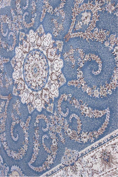 Килим ESFEHAN 9720A blue-ivory