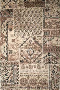 Дорожка MOROCCAN 0002 KMK  из Полипропилен производства Турция  в коричневых цветах - фото М