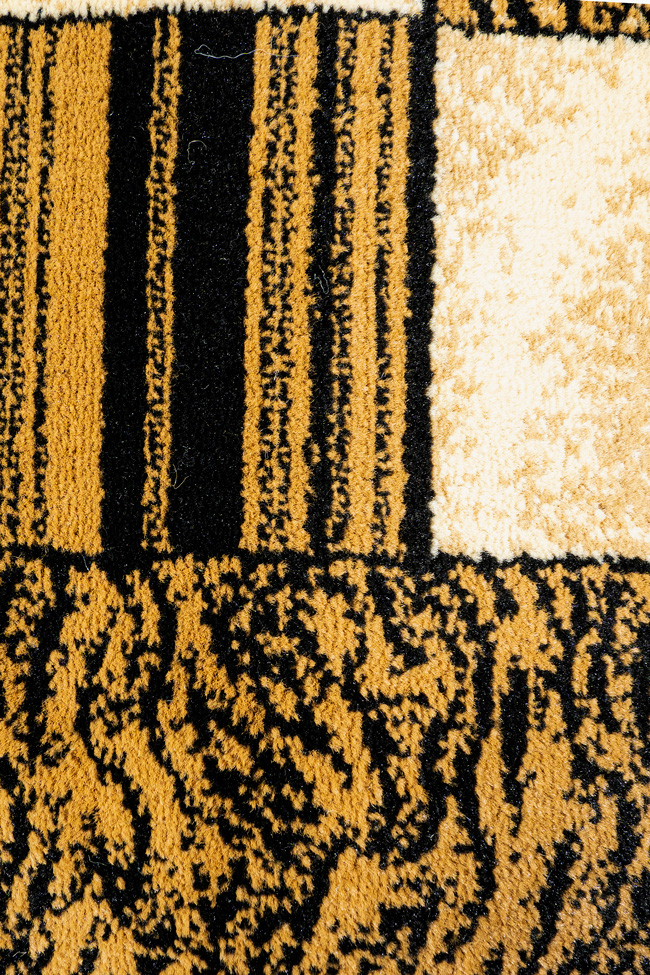 Ковровая дорожка SUPER ELMAS 4246A black-black