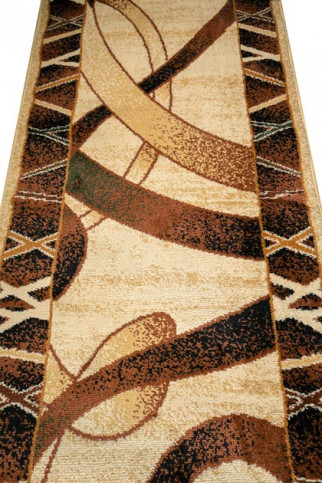Ковровая дорожка TUTKU 6449A ivory-brown