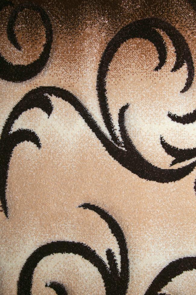 Дорожка DAISY CARVING 8408A beige