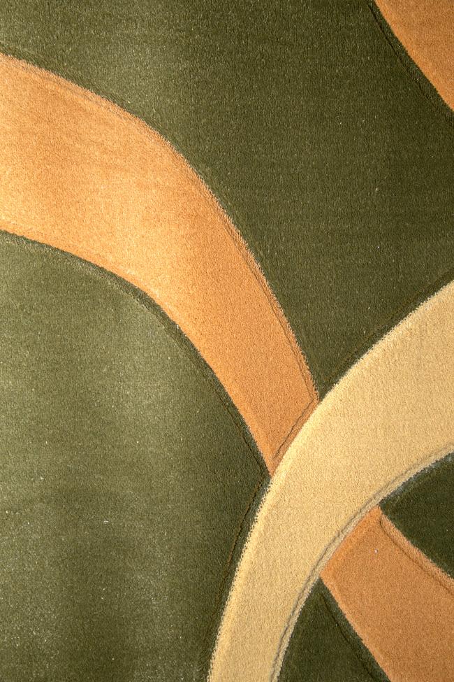 Дорожка LIZA green-cream