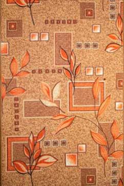 Ковролин P 1166/39 39  из Полиамид производства Беларусь  в желто-оранжевых цветах - фото М