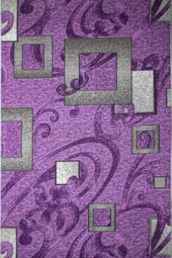 Ковролин P 1023/50 50  из Полиамид производства Беларусь  в розово-фиолетовых цветах - фото М