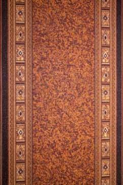 Дорожка P 1100/43 43  из Полиамид производства Беларусь  в желто-оранжевых, в коричневых цветах - фото М