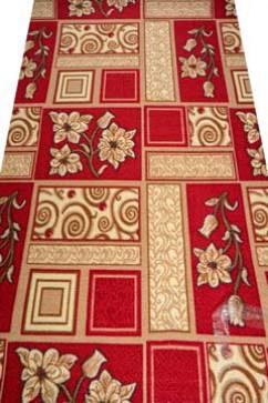 Ковролин VESNA 315  из Полиамид производства Россия  в красно-бордовых, в коричневых цветах - фото М