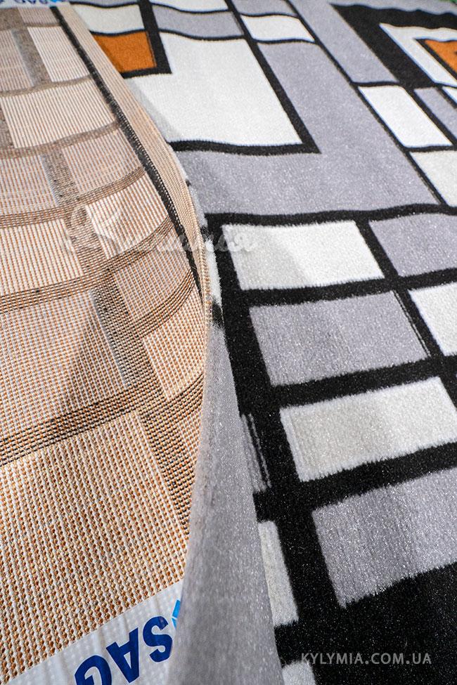 Ковер ALMIRA 4124 grey-black