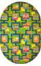 Килим BABY 6046 green-dblue