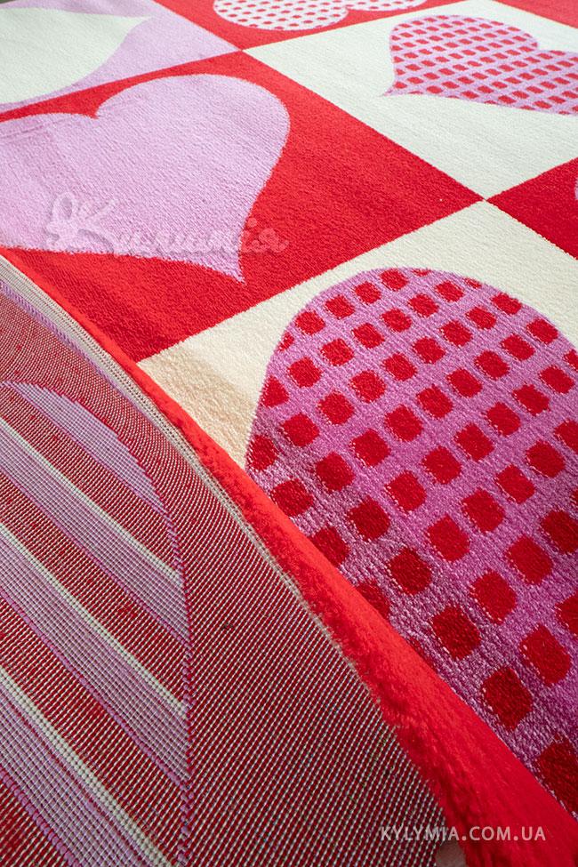 Ковер BABY 2084 pink-red