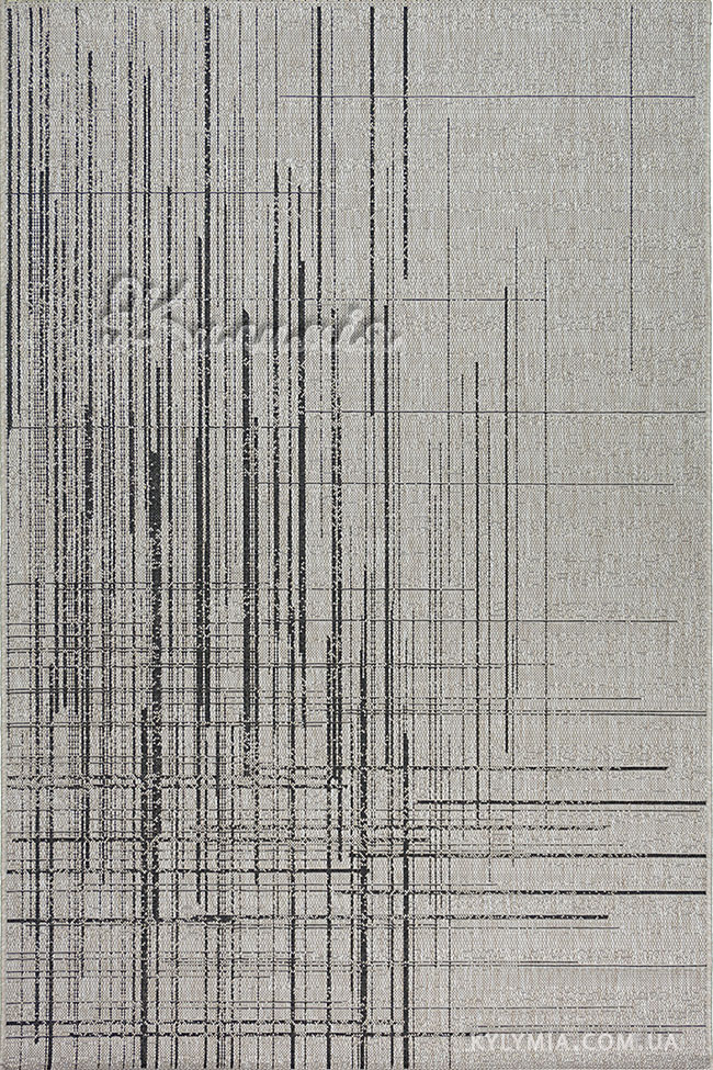 Килим NATURA 20488 silver-biack