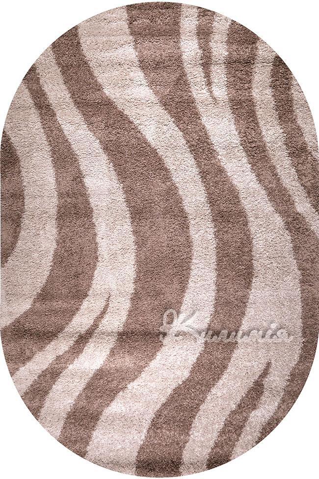 Килим SHAGGY BRAVO 1846 dbrown-beige