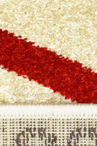 Килим OPTIMA 78007 ivory-red