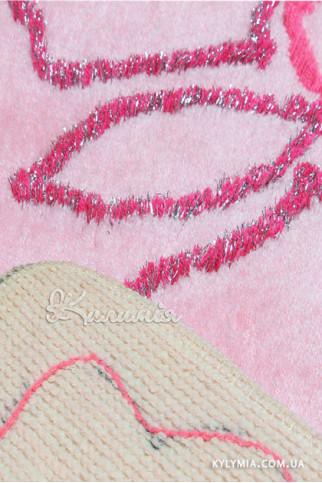 Ковровая дорожка IZNIK 3PC pink