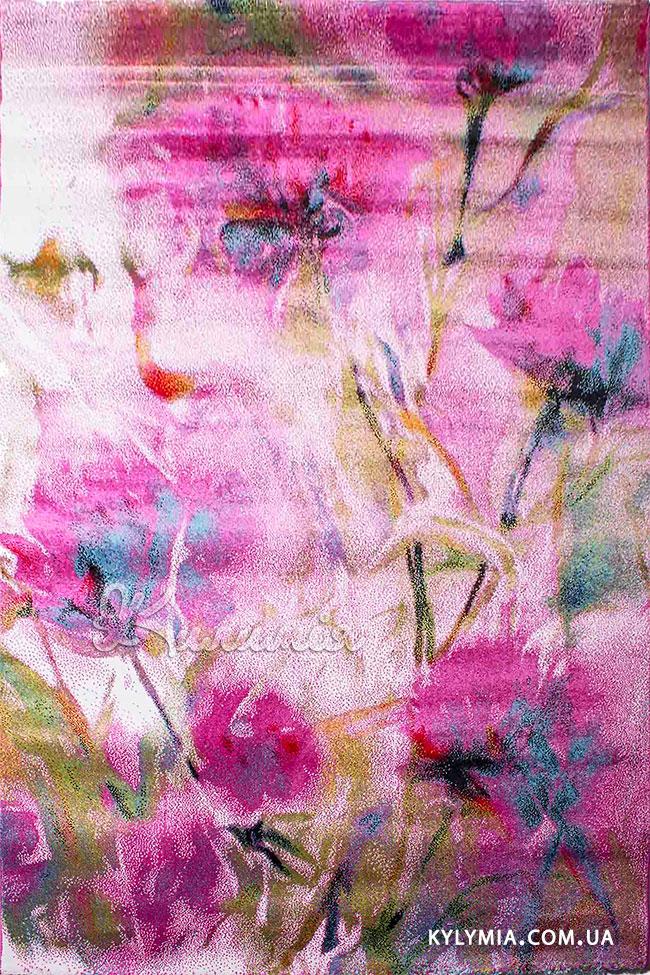 Килим AMORE 9458A white-lila