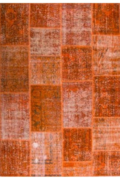 Килим PATCHWORK CARPET orange