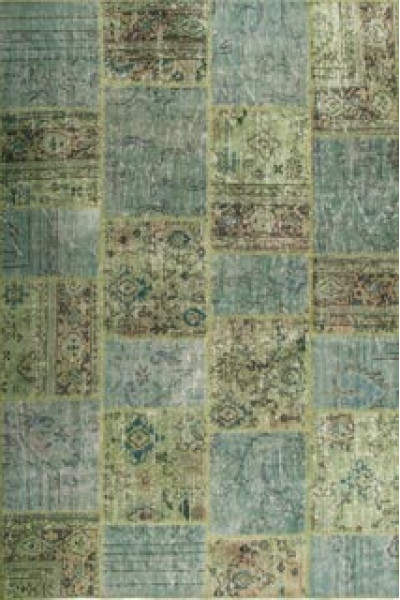 Килим PATCHWORK CARPET green
