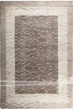 CHAK MAZE 95 Индийский натуральный шерстяной ковер ручного плетения в натуральных красках.Теплый, добротный.