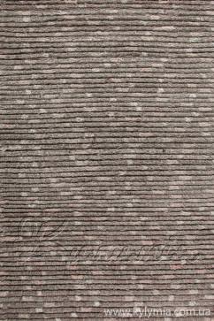CHAK brown 94 Индийский натуральный шерстяной ковер ручного плетения в натуральных красках.Теплый, добротный.