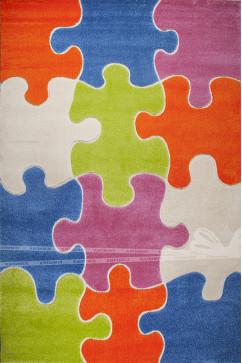 FULYA 8C10A 3156 Идеальный коврик в детскую комнату с разнообразными рисунками, не вызывает аллергию.