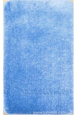 Килимок SOFT 60X100 1PC PLAIN blue (5010)
