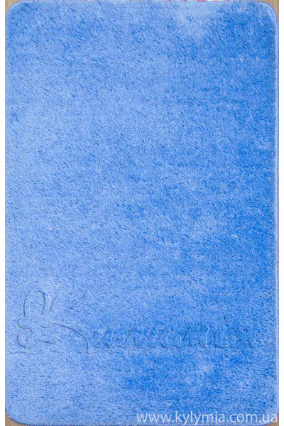 Коврик SOFT 60X100 1PC PLAIN blue (5004)