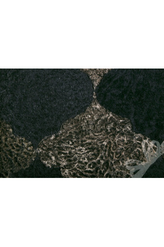 Ковер WOOL 16028-09 black-brown