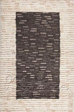 CHAK FRAME 2907 Индийский натуральный шерстяной ковер ручного плетения в натуральных красках.Теплый, добротный.