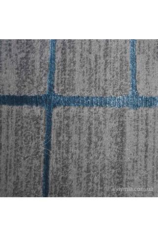 Ковер MANYAS W1702 koyu gri-blue polyester