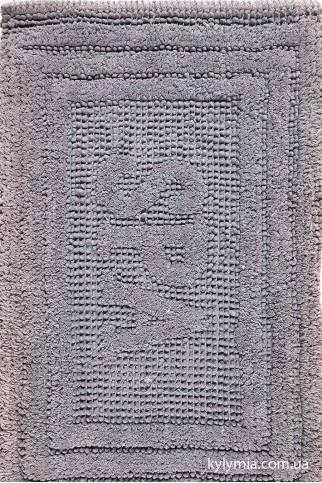 Коврик WOVEN RUG 80052 dkgrey