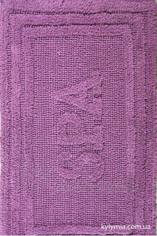 Коврик WOVEN RUG 80052 lilac