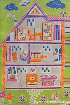 FULYA 8G24A 17052 Идеальный коврик в детскую комнату с разнообразными рисунками, не вызывает аллергию.