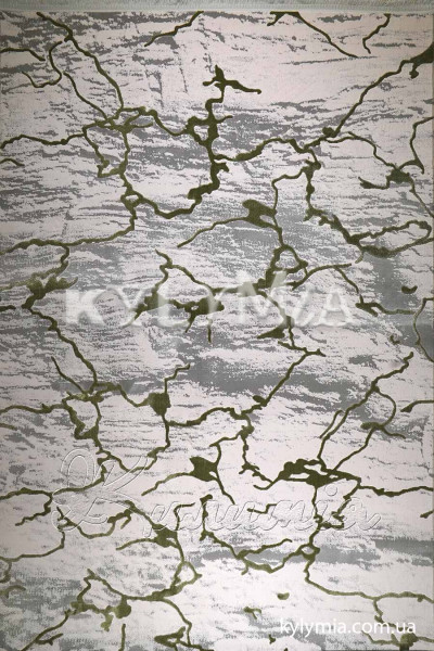 Ковер NUANS W6059 ivory-green poly