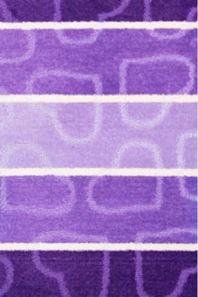 Коврик MULTI 60X100 2PC (5003) HEART lilac
