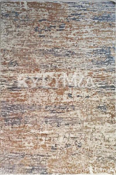 Килим ELITRA W7079 dblue-dorange