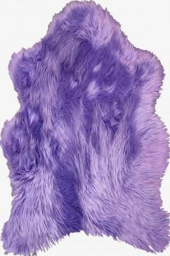 """A-POST lila 18168 Шкуры из искусственного меха """"под овчину"""". Могут служить как ковриком, так и модным  декором."""