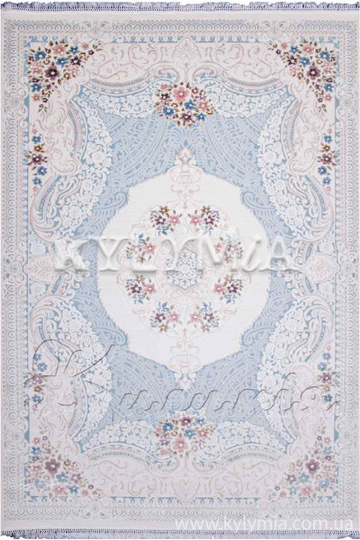 Ковер BELMOND K183A l blue-hb cream