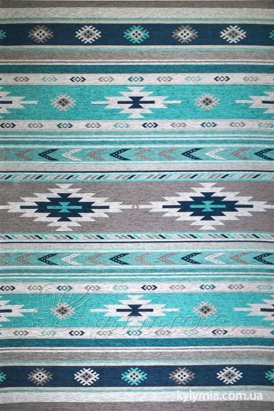 Ковер ALMINA 127574 01-grey-turkuaz