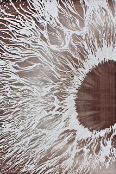 Ковер VALS W8645 dbeige-brown