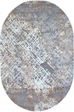 ZARA W3982 18028 Ковер из полиэстера, в современном винтажном стиле, мягкий, шелковистый. Подойдет в любую комнату.