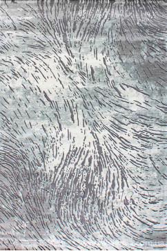 ZARA W3983 18030 Ковер из полиэстера, в современном винтажном стиле, мягкий, шелковистый. Подойдет в любую комнату.