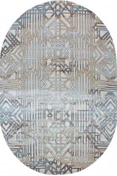 ZARA W6118 18032 Ковер из полиэстера, в современном винтажном стиле, мягкий, шелковистый. Подойдет в любую комнату.