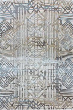 ZARA W6118 18031 Ковер из полиэстера, в современном винтажном стиле, мягкий, шелковистый. Подойдет в любую комнату.